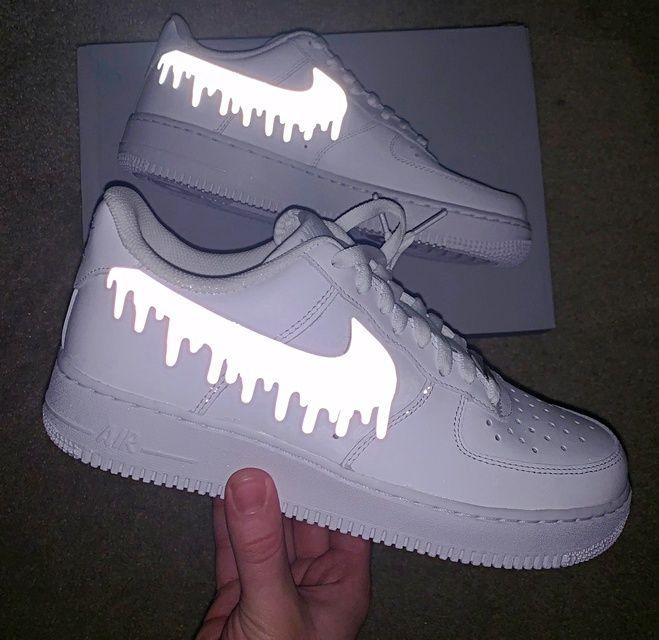 Teal Bandana Air Force 1 in 2020 | Nike air shoes, Custom