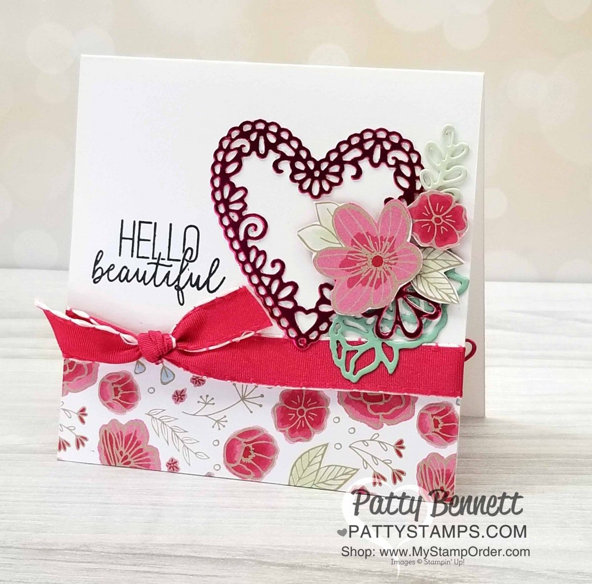 be mine stitched heart note card idea  valentine cards