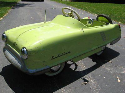 1955 Garton Kidillac Pedal car- I wish I could find one of these!