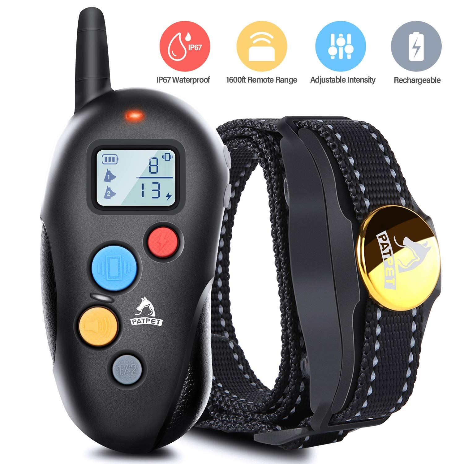 Altman Dog Shock Collar Remote Training Collar With Rechargeable