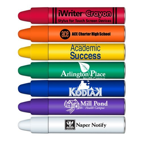 Our iWriter® Crayon is perfect for PDA's, smart phones or any touch screen device. It's easy to hold and great for little hands. contact us for pricing