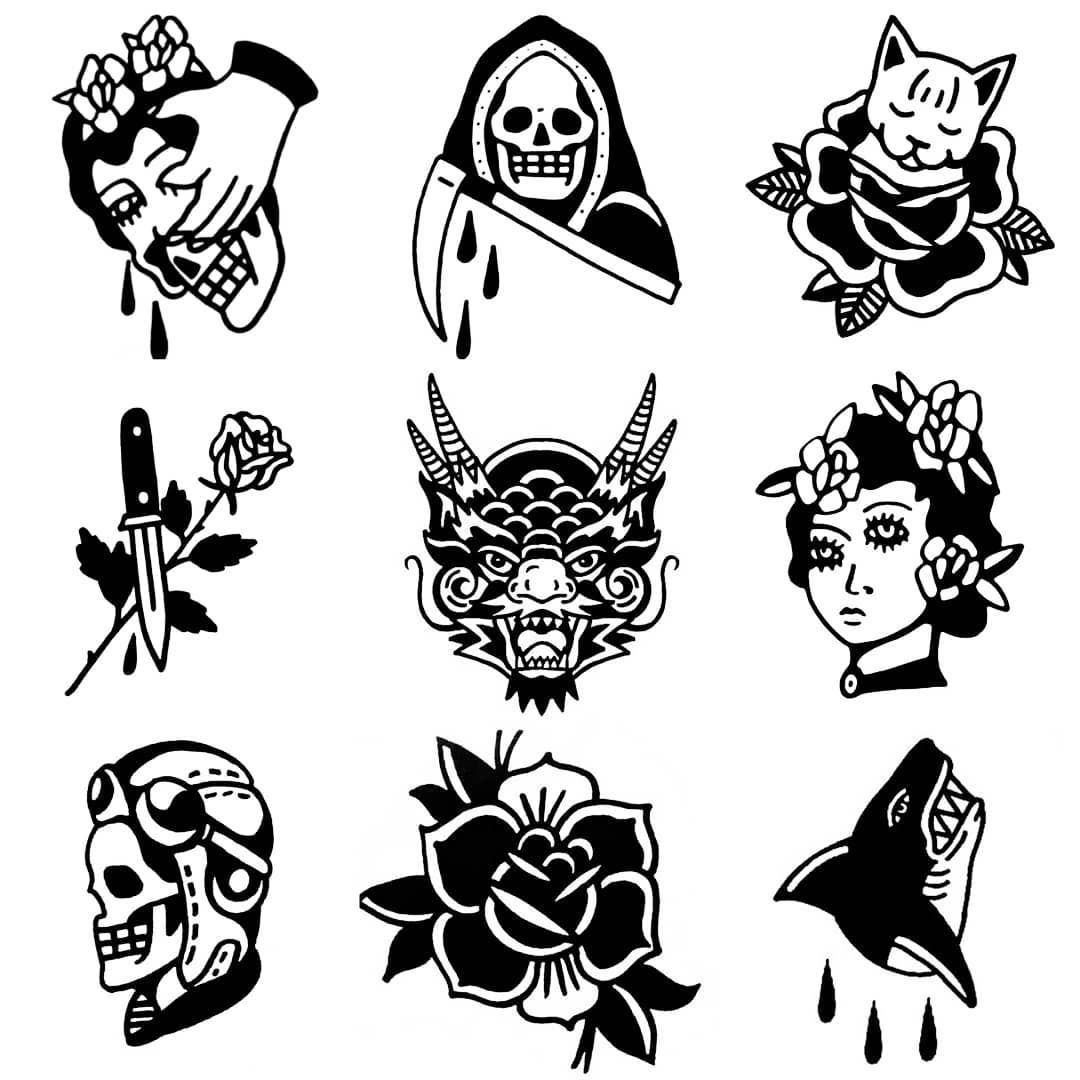 Bocetos De Tatuajes Tradicionales 2,906 tykkäystä, 27 kommenttia - msg (@msgtraditional
