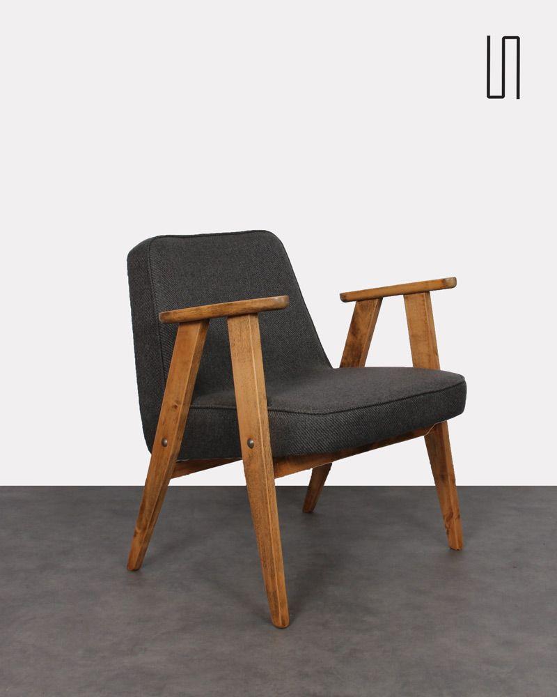 Chierowski Modèle Le Jozef Fauteuil Par Polonais Dont Designer 366 nO0kP8w