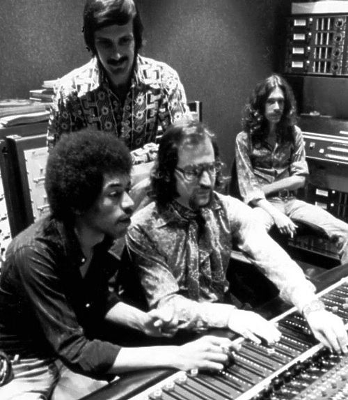 Jimi Hendrix With Jim Marron & Eddie Kramer: Electric Lady Studios ...