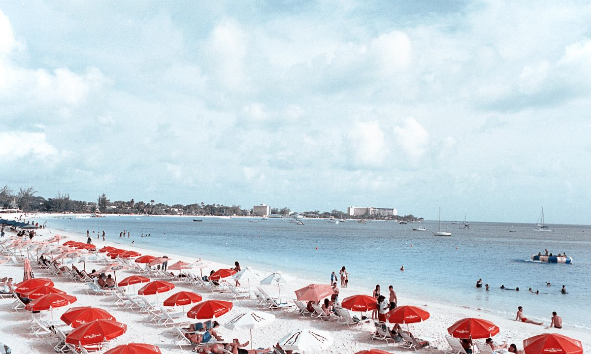 Beachin in Barbados