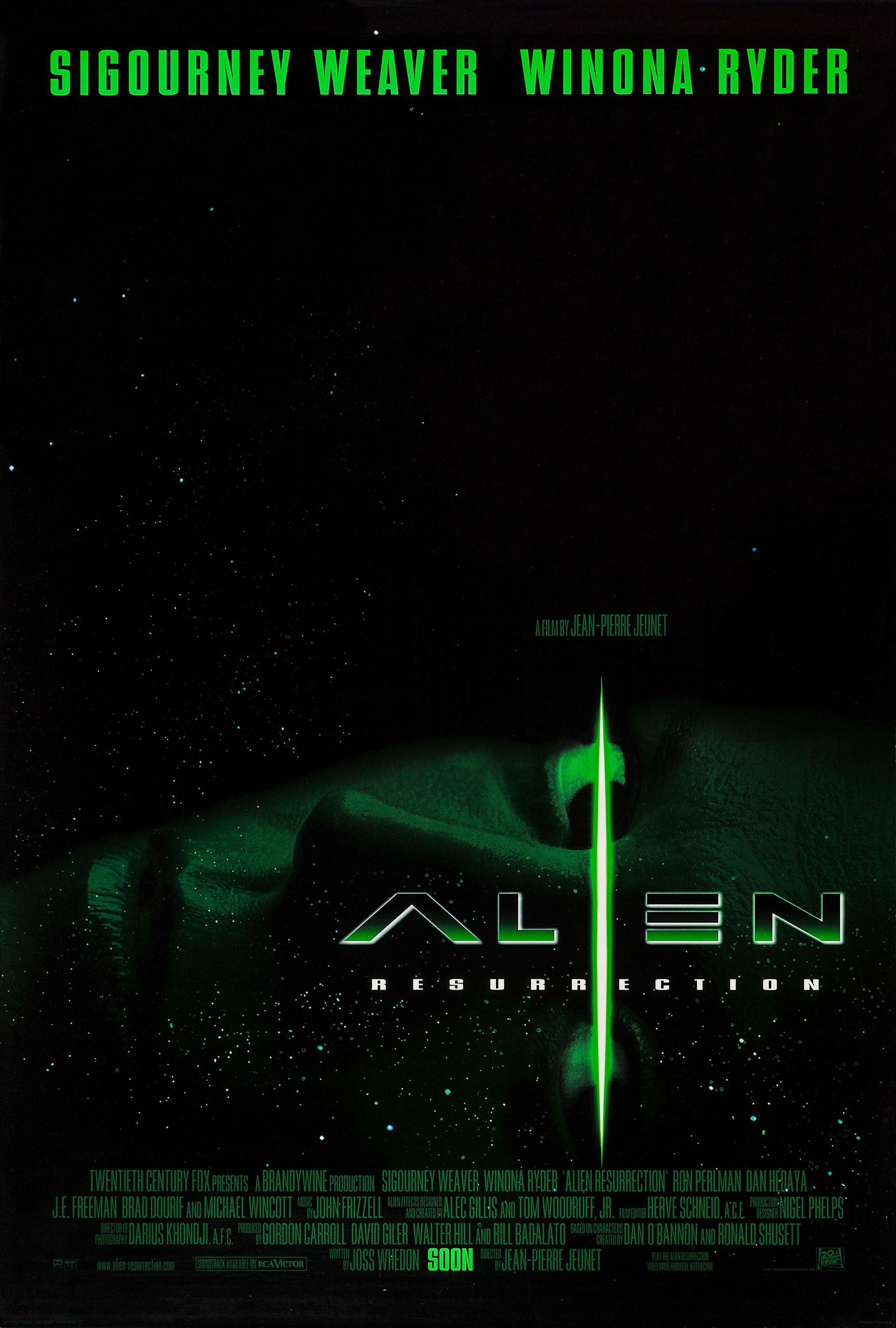 Return To The Main Poster Page For Alien Resurrection 2 Of 4