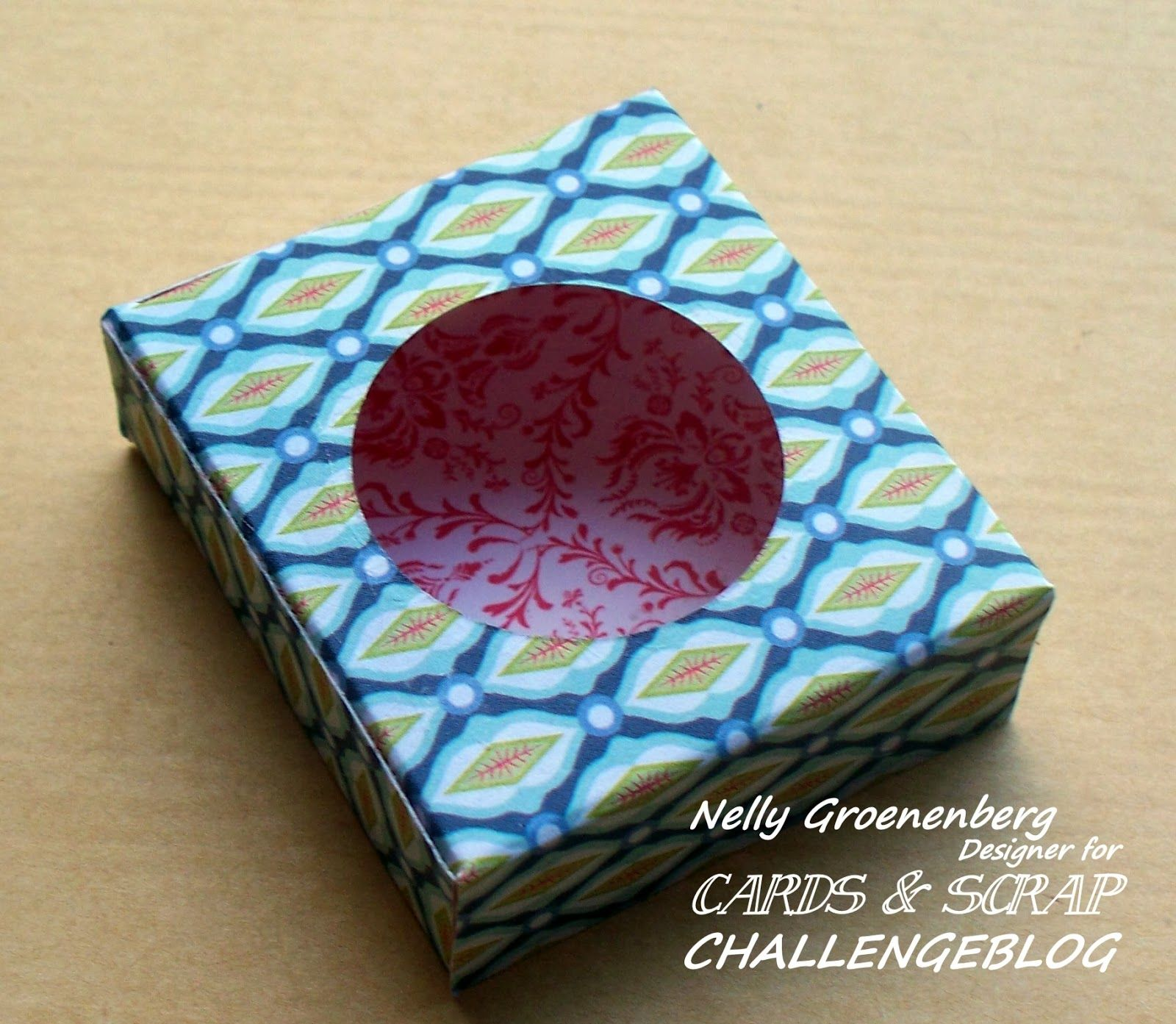 Cards en Scrap Challengeblog: Workshop 104 Bonbon verpakking