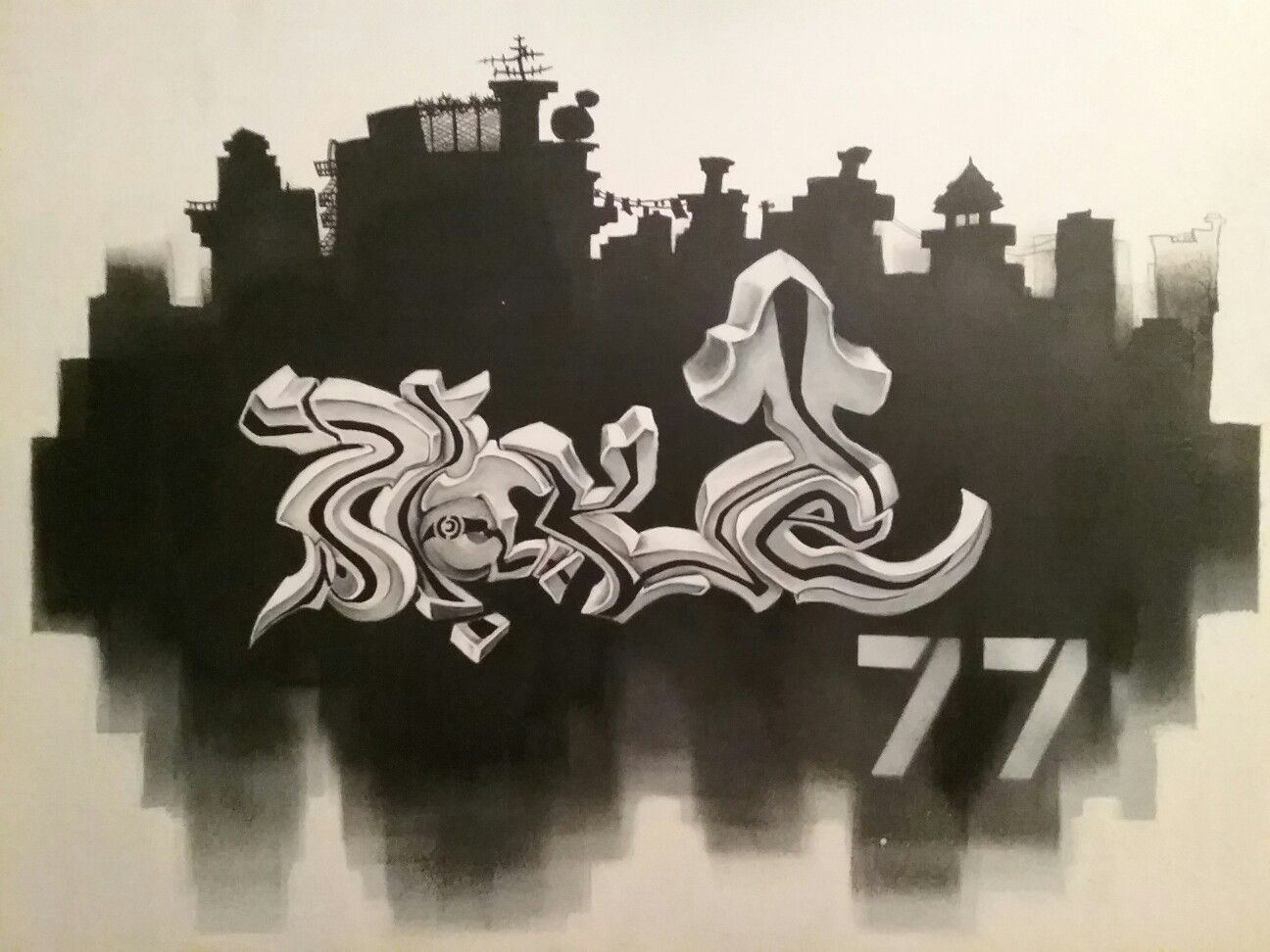 Blake In 3d Graffiti Letters Artwork 3 Graffiti Lettering