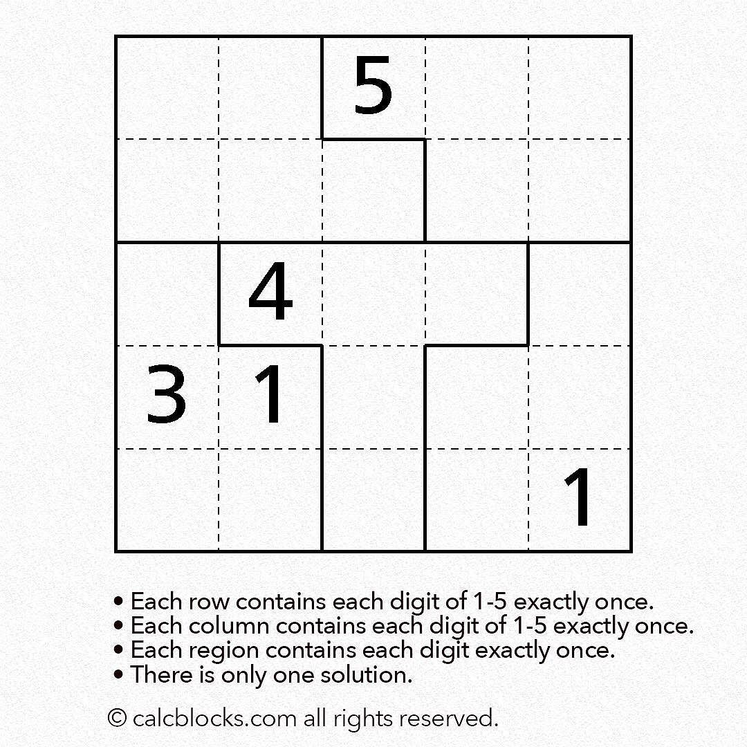 Answers for theses puzzles will be uploaded on the website