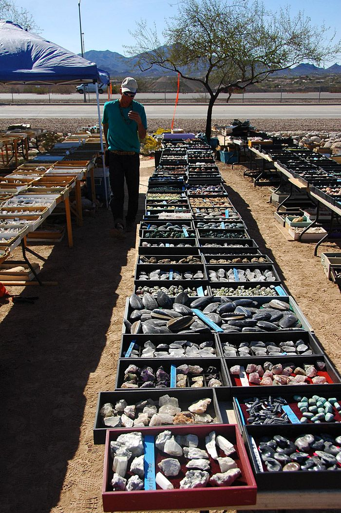 miners coop rock show gems and minerals rock tumbling tucson gem show