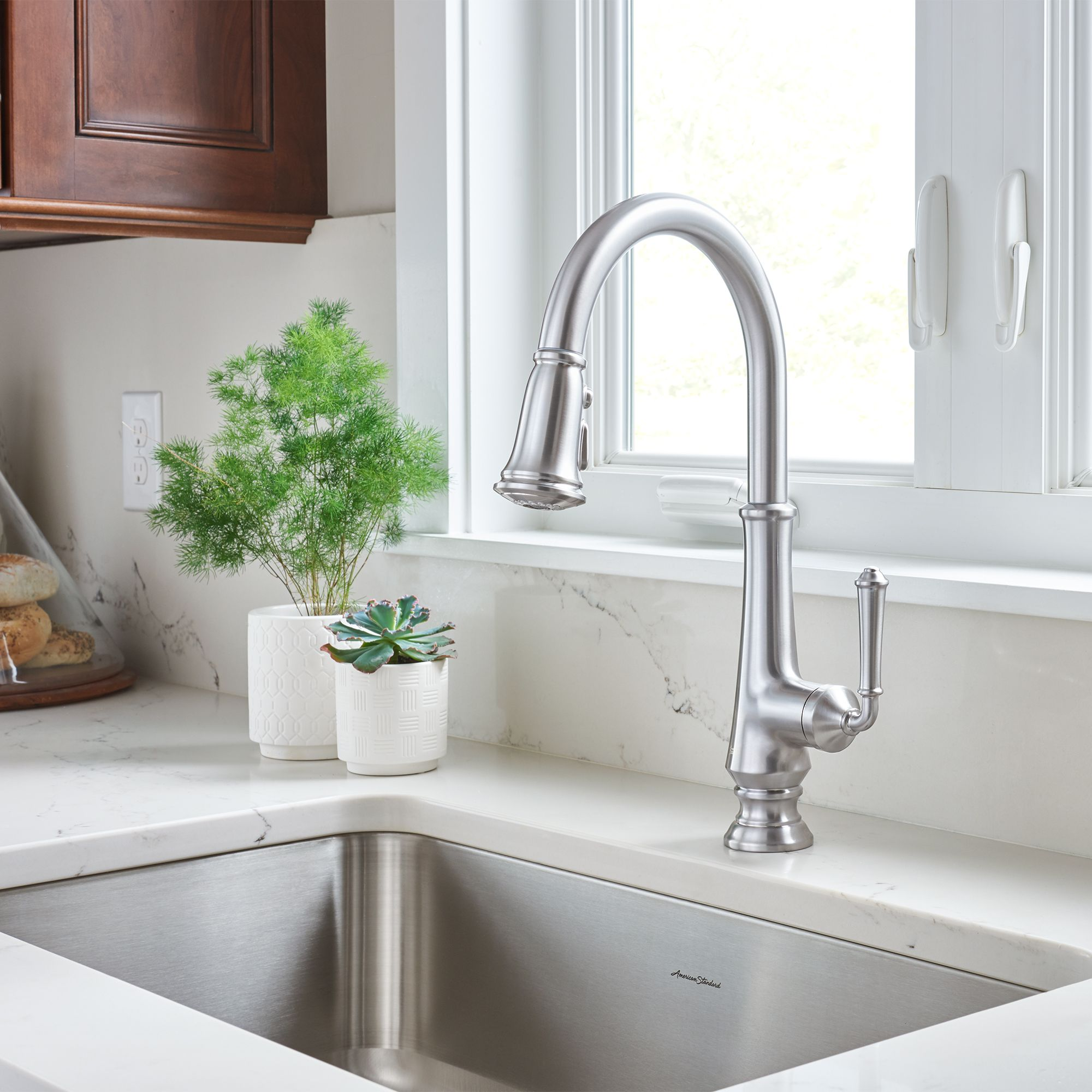Delancey Single Handle Kitchen Faucet With Images Best Kitchen