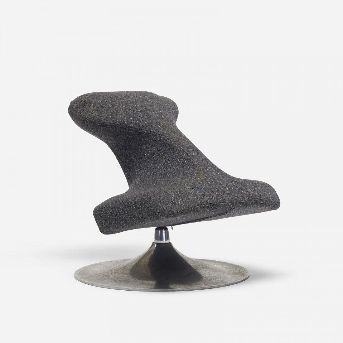 Anonymous; Kneeling Chair by Artifort, c1970. | Kneeling ...
