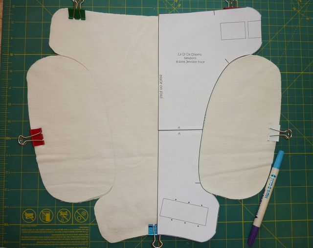 Adding soaker wings to a fitted diaper pattern ~ a tutorial ...