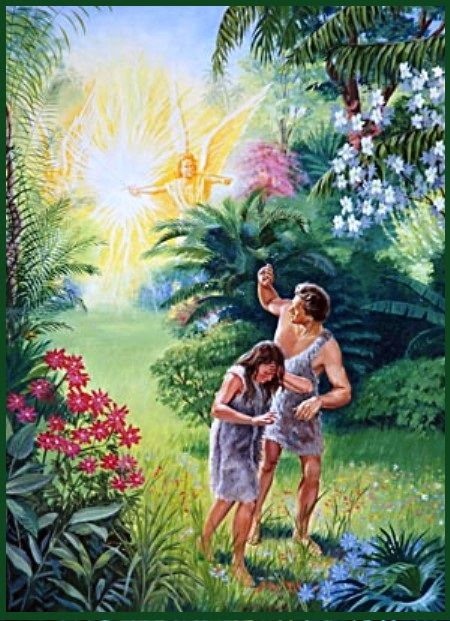 The Garden Of Eden Genesis 2 And 3 Adam And Eve Bible Pictures Bible Art