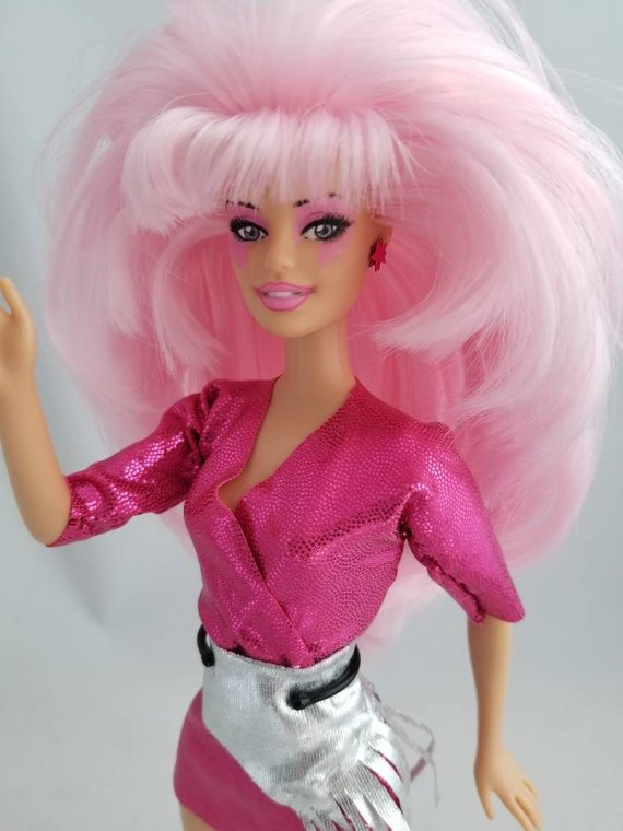 Jem of the Holograms Doll   Etsy   Jem and the holograms, Jem doll, Gem and  the holograms