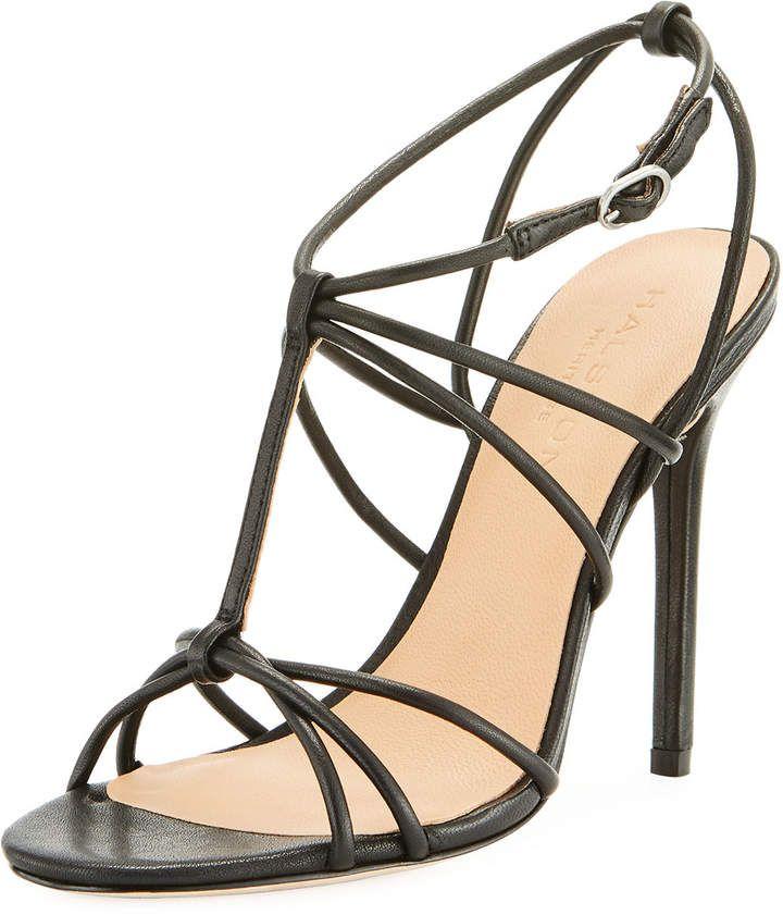 7c96996b17f Halston Heritage Anita Strappy High-Heel Sandal | Products | Halston ...