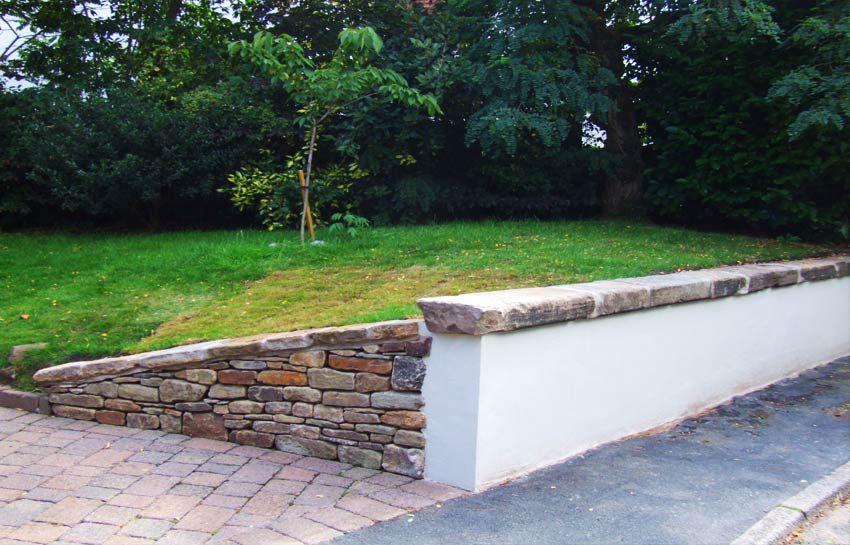 Cheshire Driveway Garden Wall Paving Design Front Garden