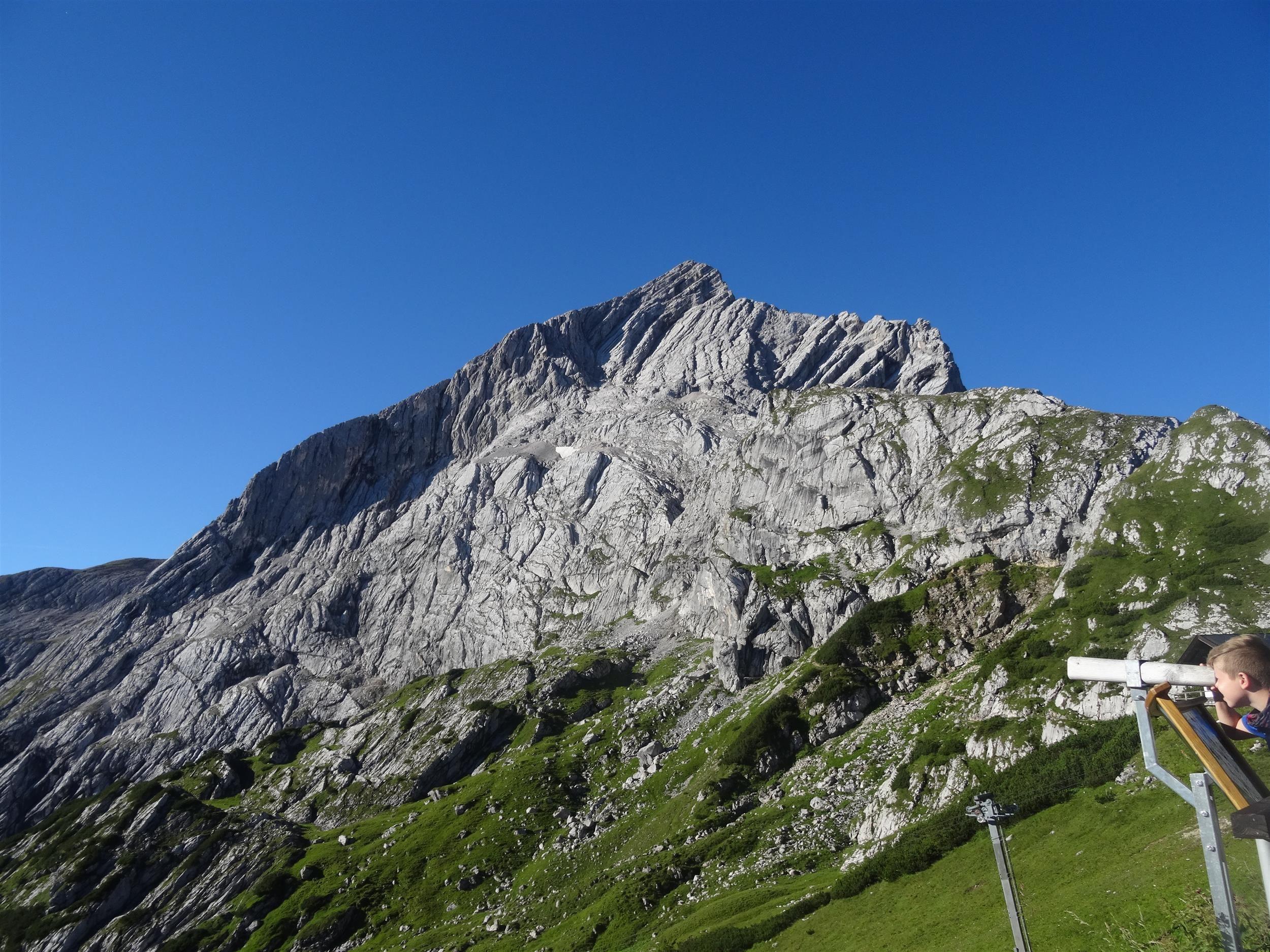 Klettersteig Alpspitze : Klettersteig alpspitze berge klettern und spitze