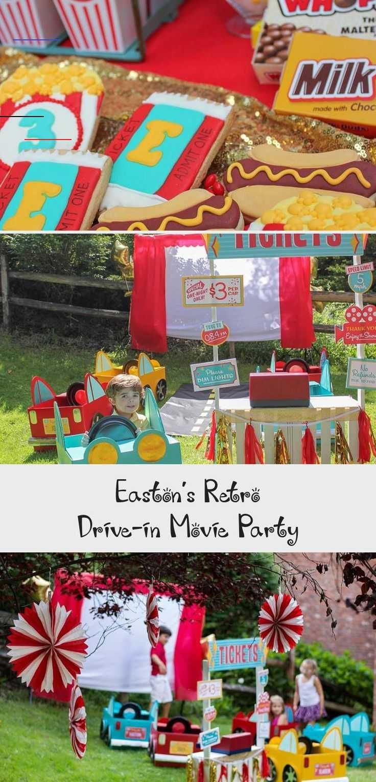 Host an adorable Retro Outdoor Drive-In Movie Party! Compete with movie party ideas and inspiration as well as free printables. DIY cardboard box cars tutorials perfect for an outdoor movie night or birthday party. Also adorable movie night thank you tag free printables and even license plate free printables! #movienight #drivein #driveinbirthdayparty #summerparty #summerbirthday #kidsbirthday #cardboardboxcars #DIYboxcars #freeprintable #kidmoviesAnimated #kidmoviesOnNetflix #kidmoviesNightIdea