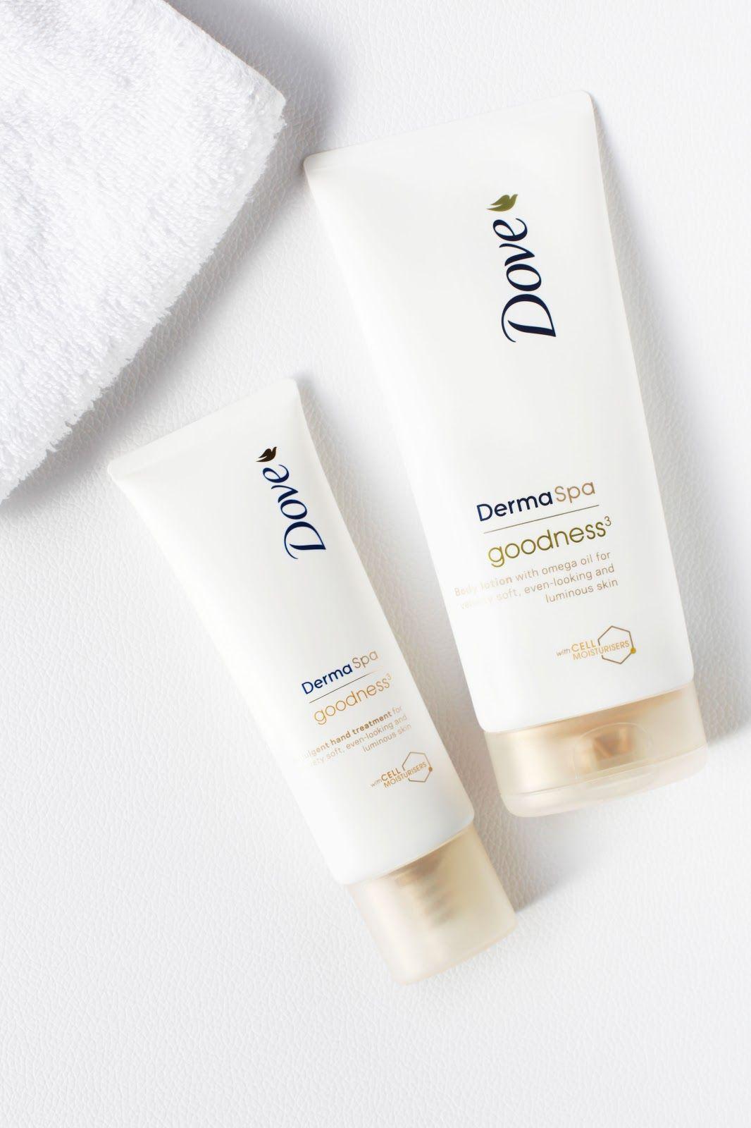 DOVE 'Derma Spa' Skincare range Skin care spa, Skin care