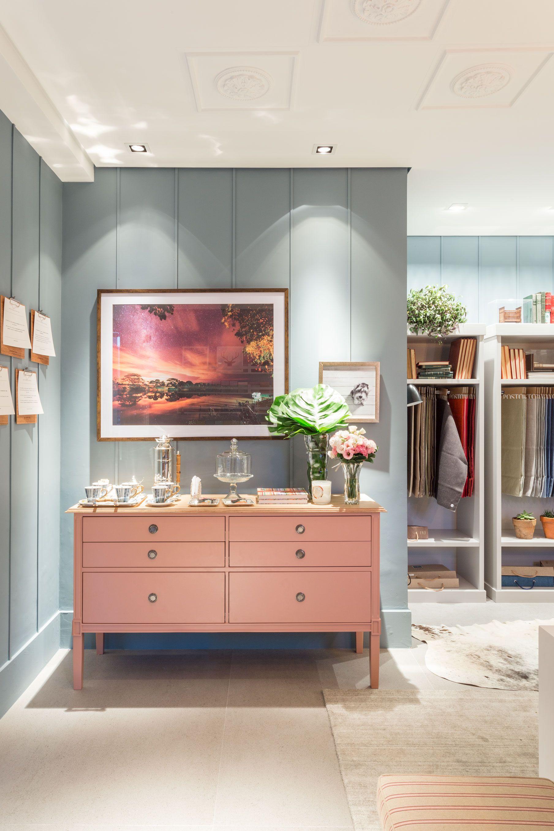 Two Design Mostra Quartos Etc 2017 C Moda Rosa Produ O Blue  ~ Quadros Parede Quarto Com Quarto Americano Casal