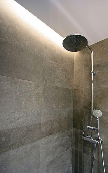 Luz indirecta mediante foseado LED en techo de pladur en ...