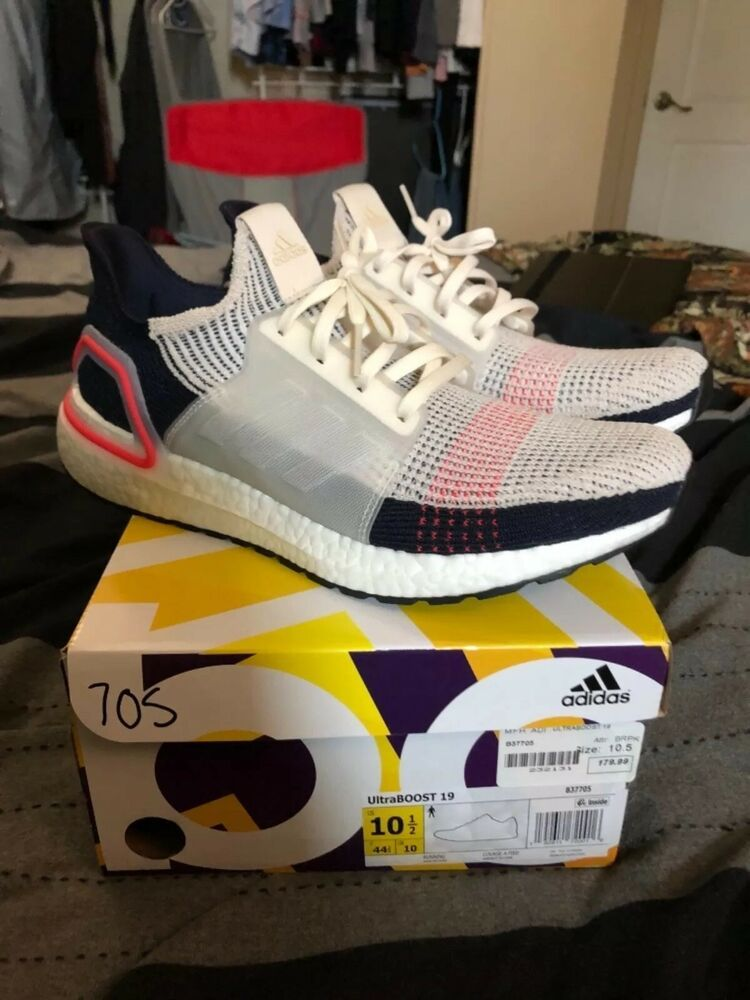 6ea5676d57ce6 Adidas Ultra Boost 2019 B37705 Unreleased Colorway Cream Rare Size 10.5