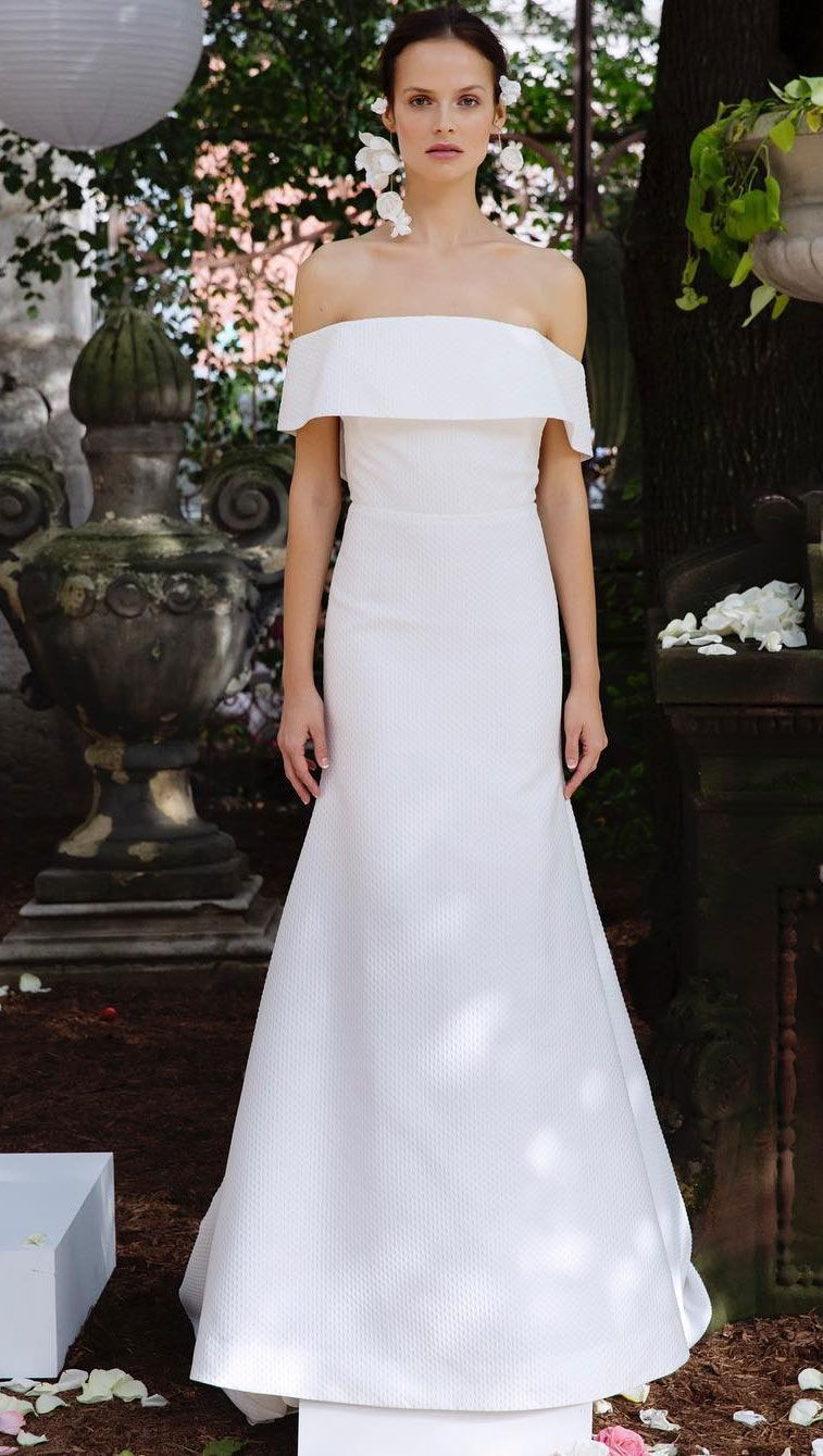 22++ Simple wedding dresses for broad shoulders information