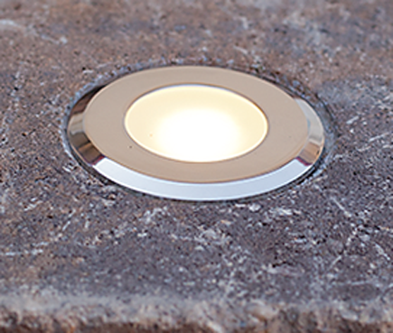 Circle Cored Led Paver Light By Nox Lighting Paver Lights Solar Lights Garden Driveway Lighting