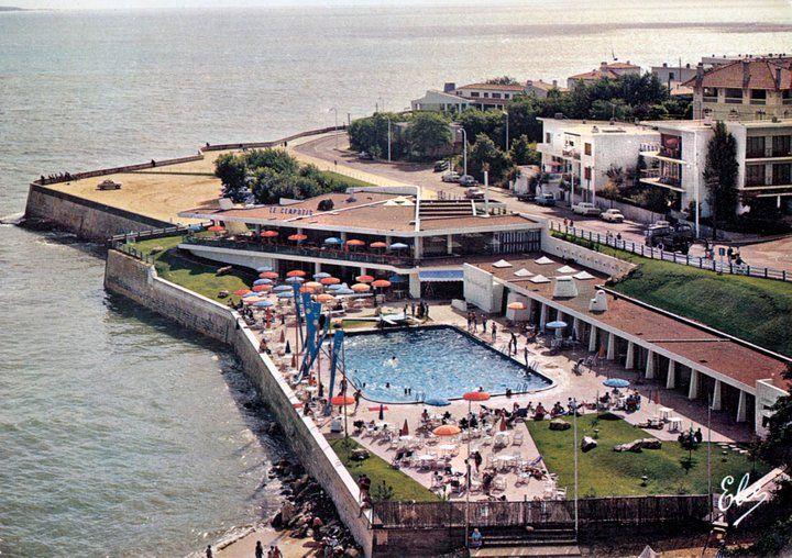 Piscine de foncillon dans les ann es 1960 royan royan - Villa charente maritime avec piscine ...