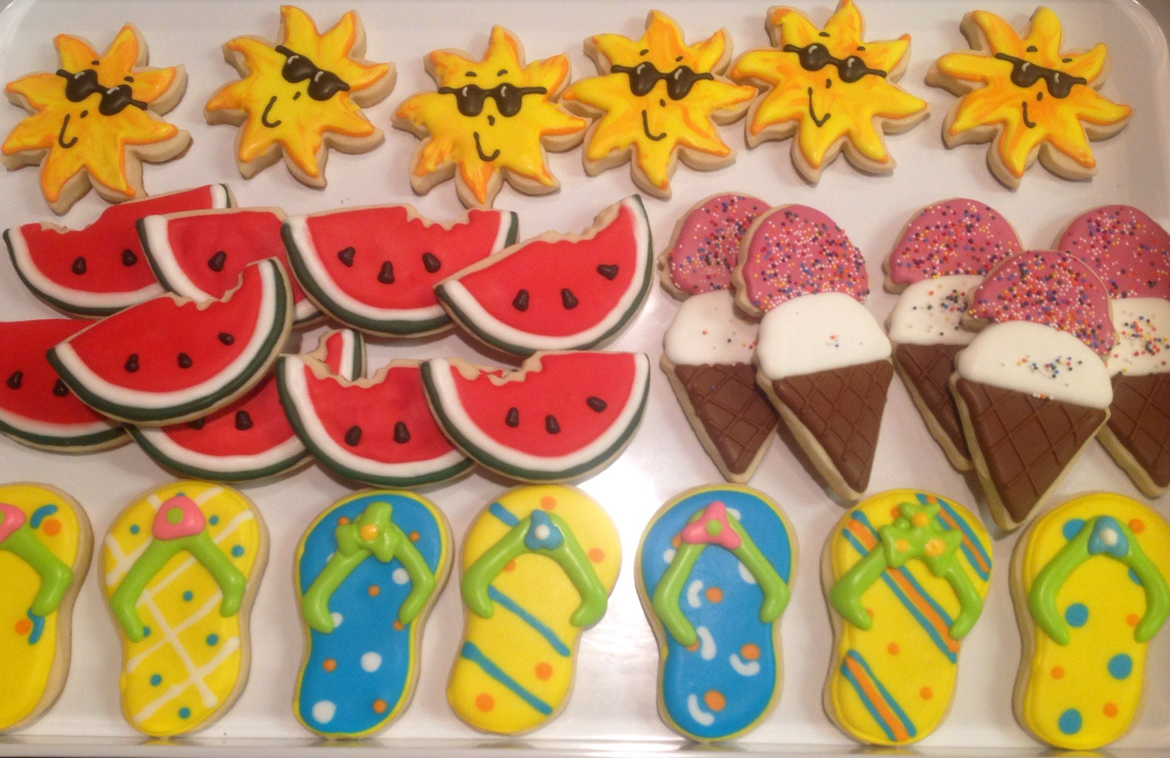 Noahs Ark  Decorated Sugar Cookies By I Am The