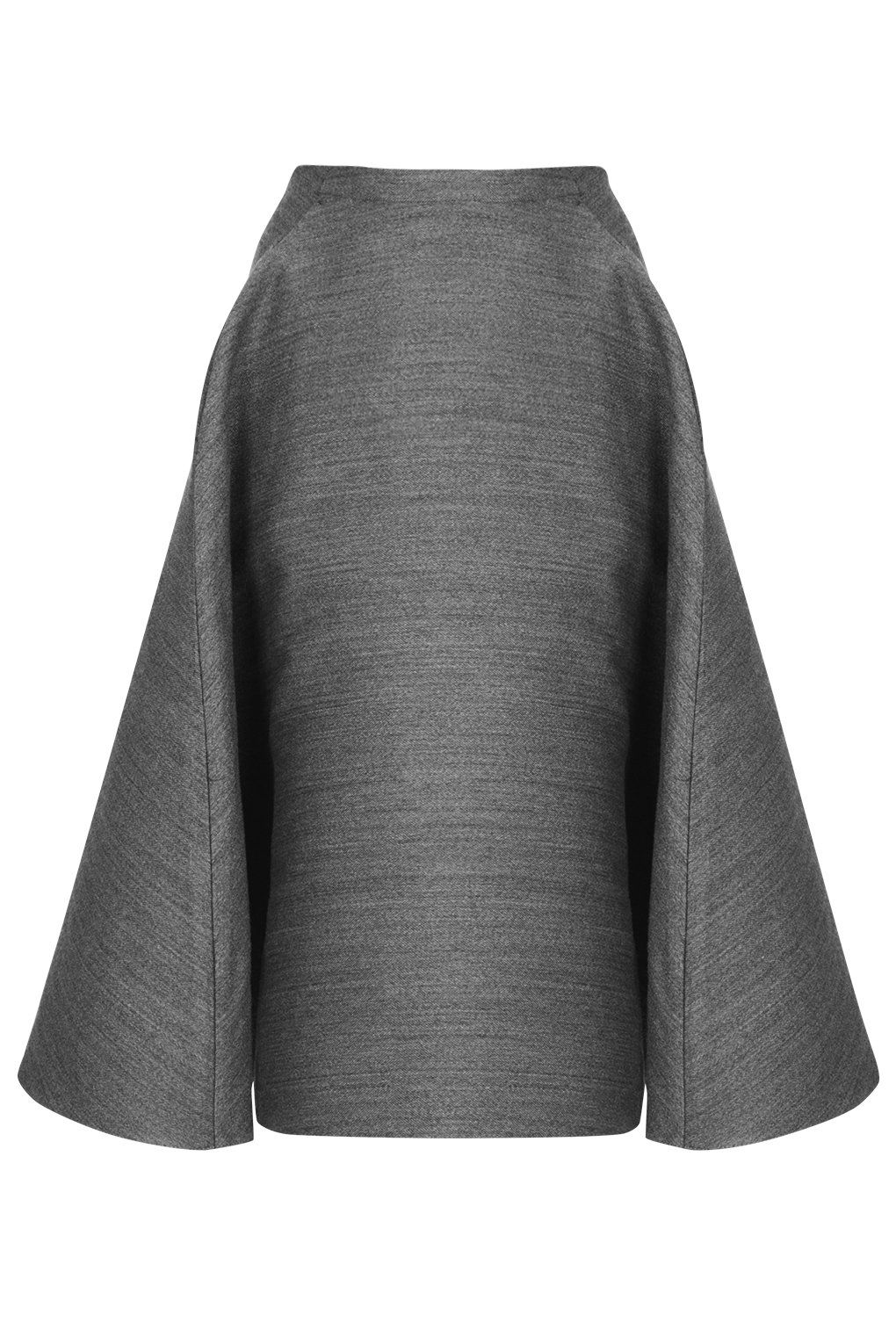 Full A-Line Midi Skirt by Unique