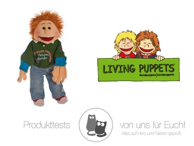 LIVING PUPPETS Gewinnspiel   Produkttests von uns für Euch!