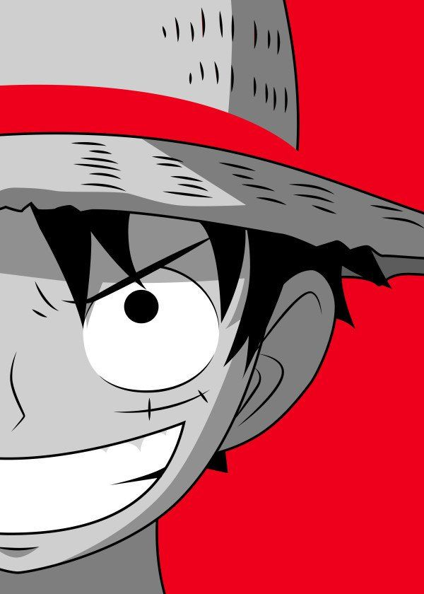 Straw Hat Luffy Straw Hat Luffy Gallery Quality Print On Thick 45cm 32cm Metal Plate Each Displate Print Verified By Th Anime Wallpaper Luffy Print Quality