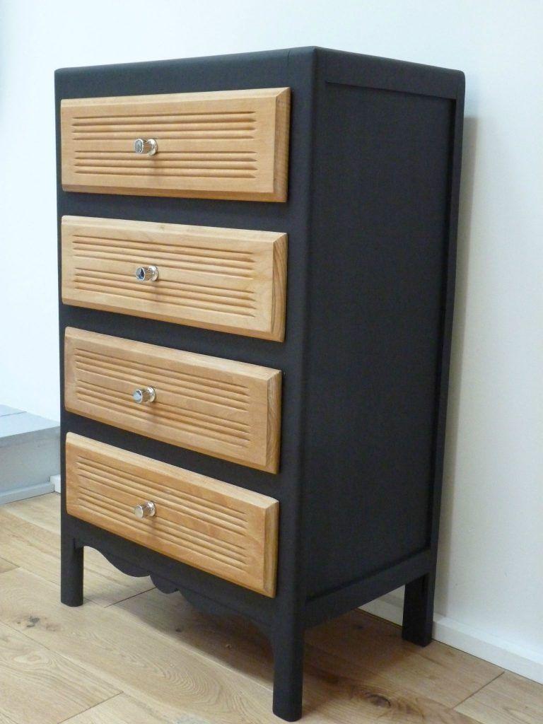 Relooker Meuble En Pin Vernis repeindre une commode en bois 3 charmant meuble pin 14 brut