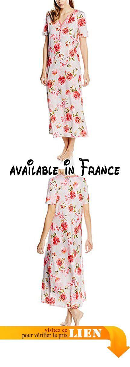 58f248e510920 Rösch Floral Romance 1163565, Chemise de Nuit Femme, Mehrfarbig (Original  10100),