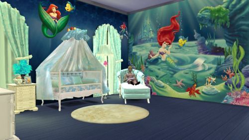 Lana Cc Finds Nursery Furniture Sims 4 Bedroom Sims 4