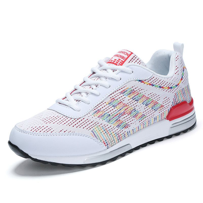 2017 Trend Trainers Hot New Lace Running Up Couples Sneakers Jogging 54RL3Aj