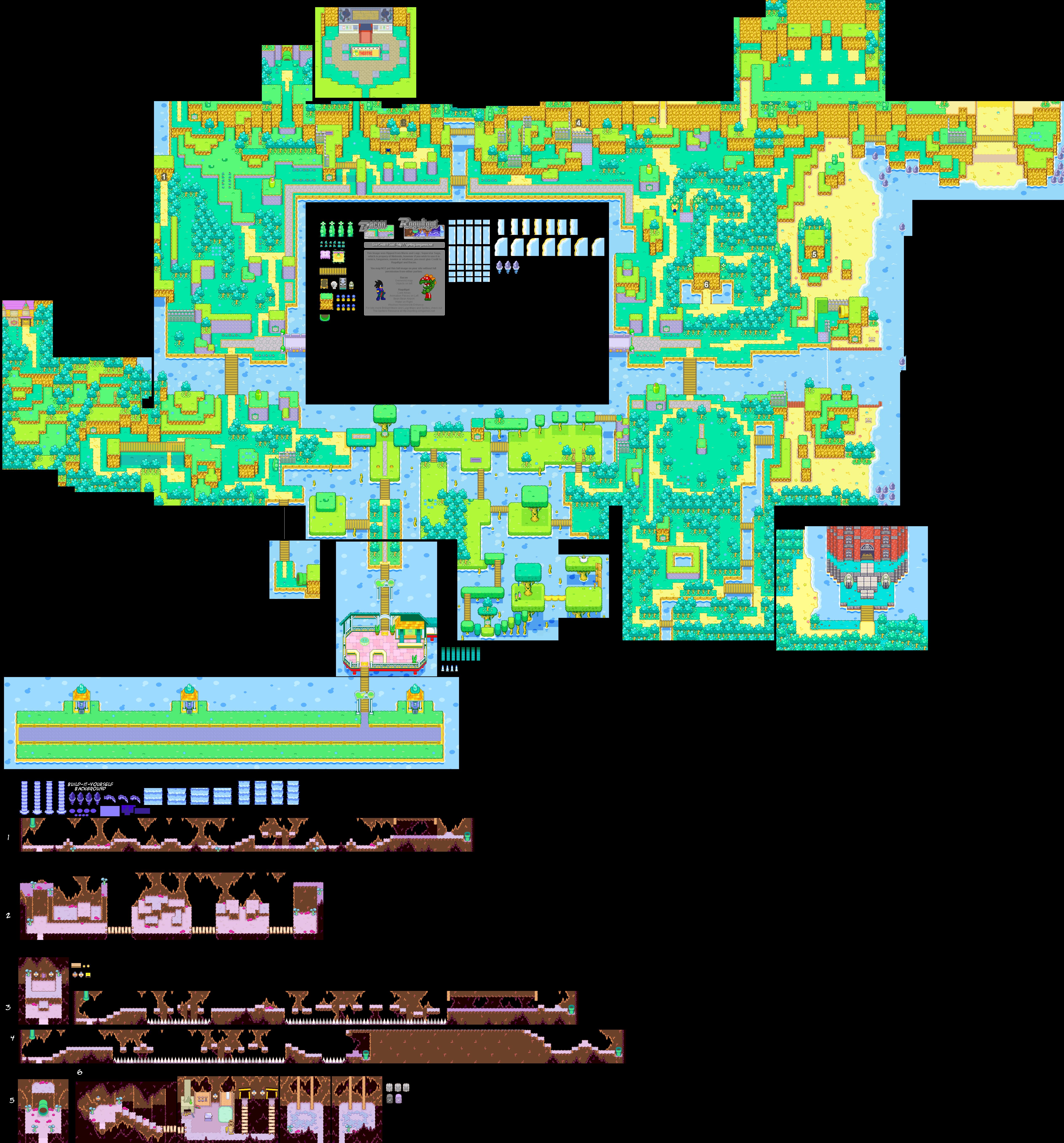 Mario Luigi Superstar Saga Bean Bean Kingdom 2 25mb