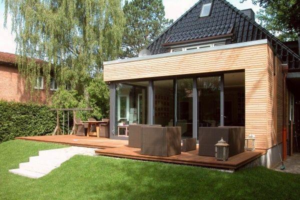 Anbau an ein Einfamilienhaus in Hamburg HARMS UND KÖSTER