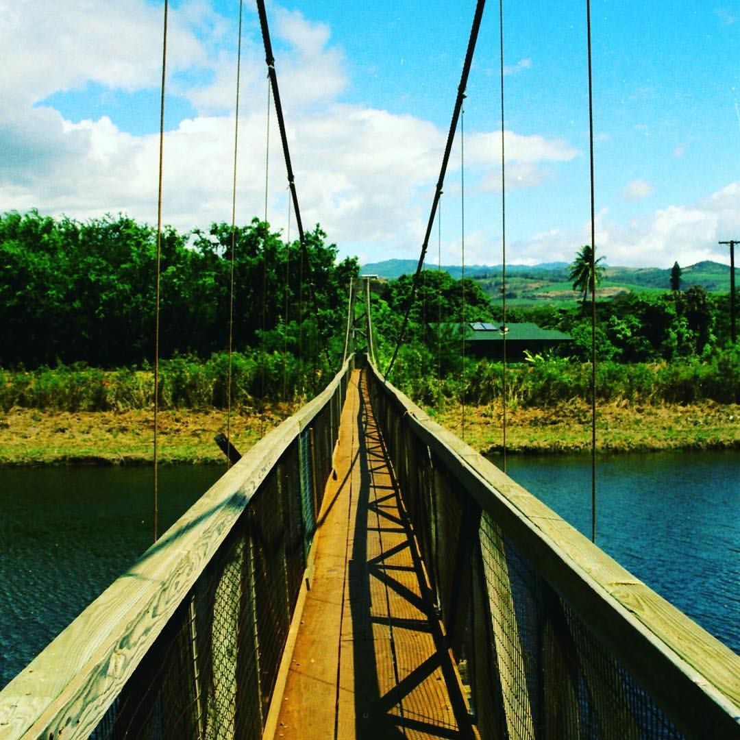"49 Likes, 2 Comments - Terry L (@livingforaloha) on Instagram: ""Hanapepe Swinging Bridge 04' . . #day6 #60for60 #photography #adventures #lifesadventures #wander…"""
