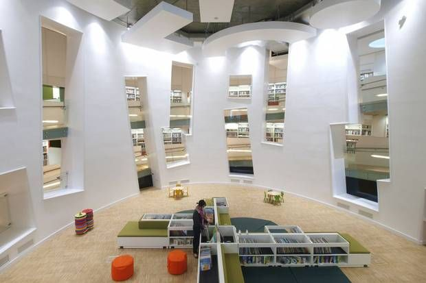 Clapham's new library building: a space for families in flat land - Architecture - Arts - Evening Standard