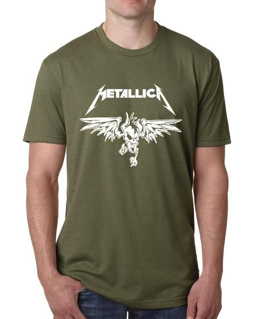 Metal Rock - Metallica - T Shirt -Short Sleeve T-Shirt