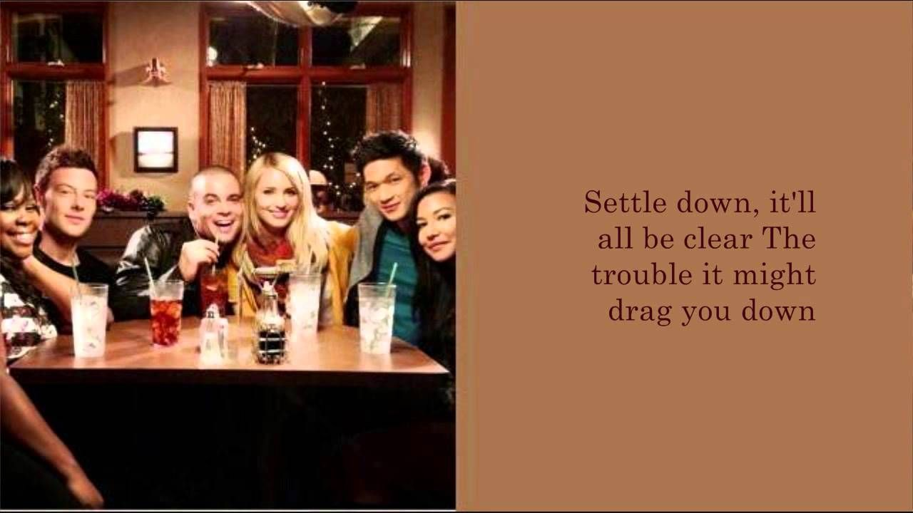 Glee Homeward Bound / Home (Lyrics) (With images) Home
