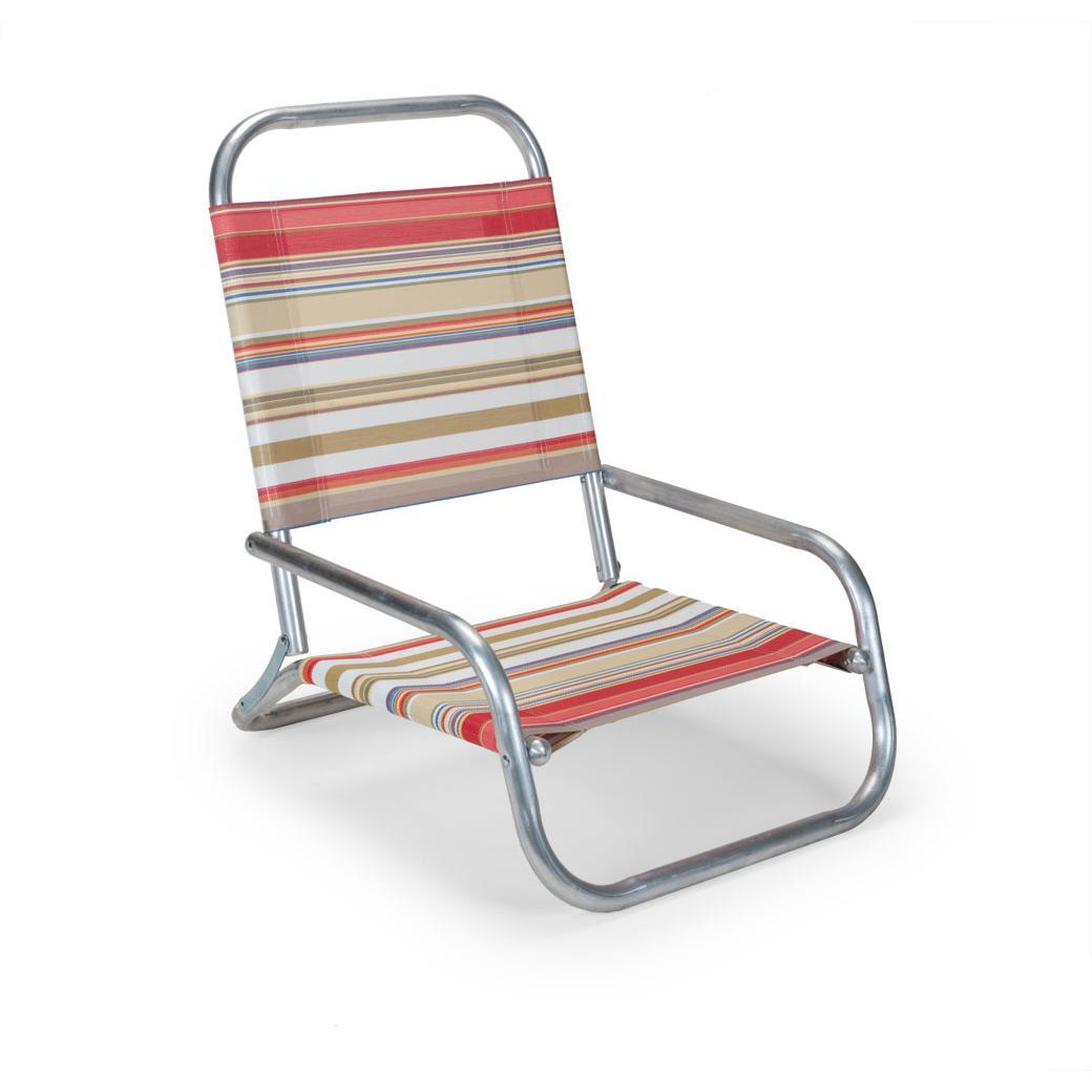 583873da22 Telescope Casual Sun & Sand Folding Aluminum Beach Chair By - Fiesta ...