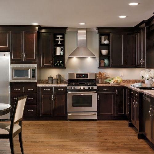 Chocolate Cabinets Home Design Ideas, Pictures, Remodel and Decor