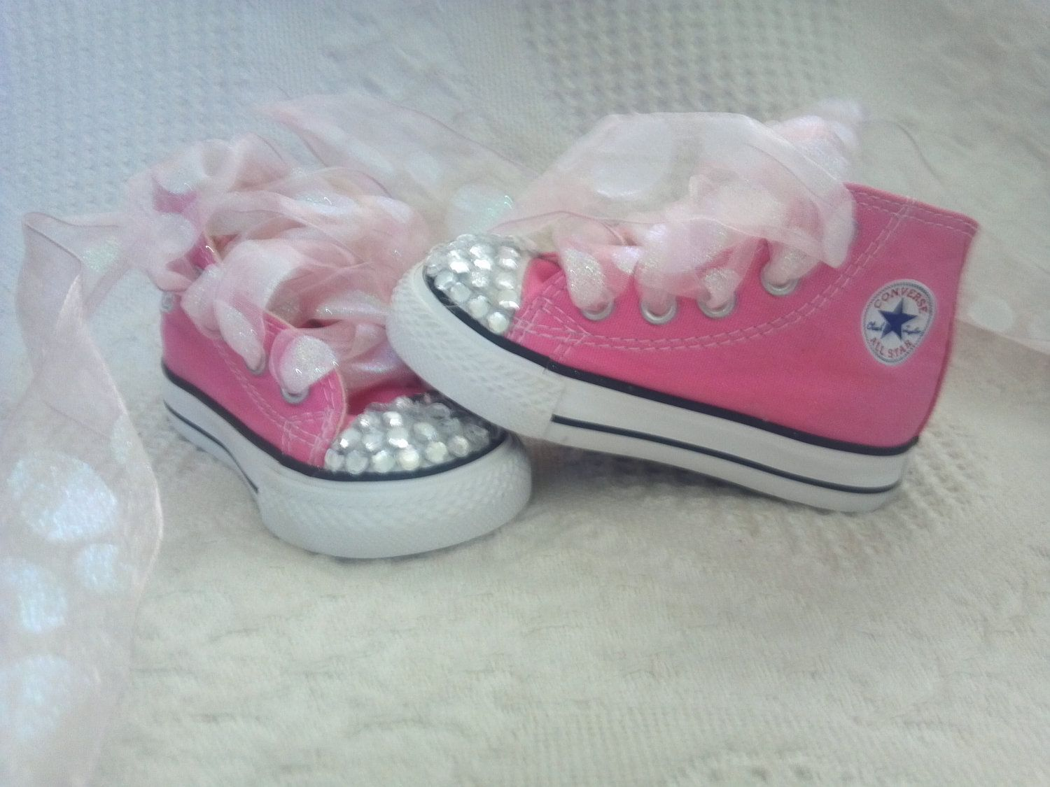 blue baby converse shoes size 4c toddler shoes