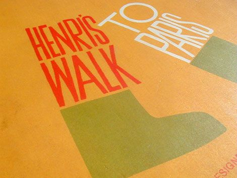 Saul Bass - Henri's walk to paris c1962 on Flickr - Photo Sharing!