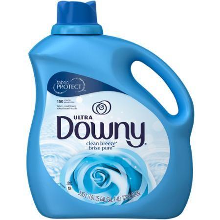 Ultra Downy Clean Breeze Liquid Fabric Softener, 129 fl oz - Walmart.com