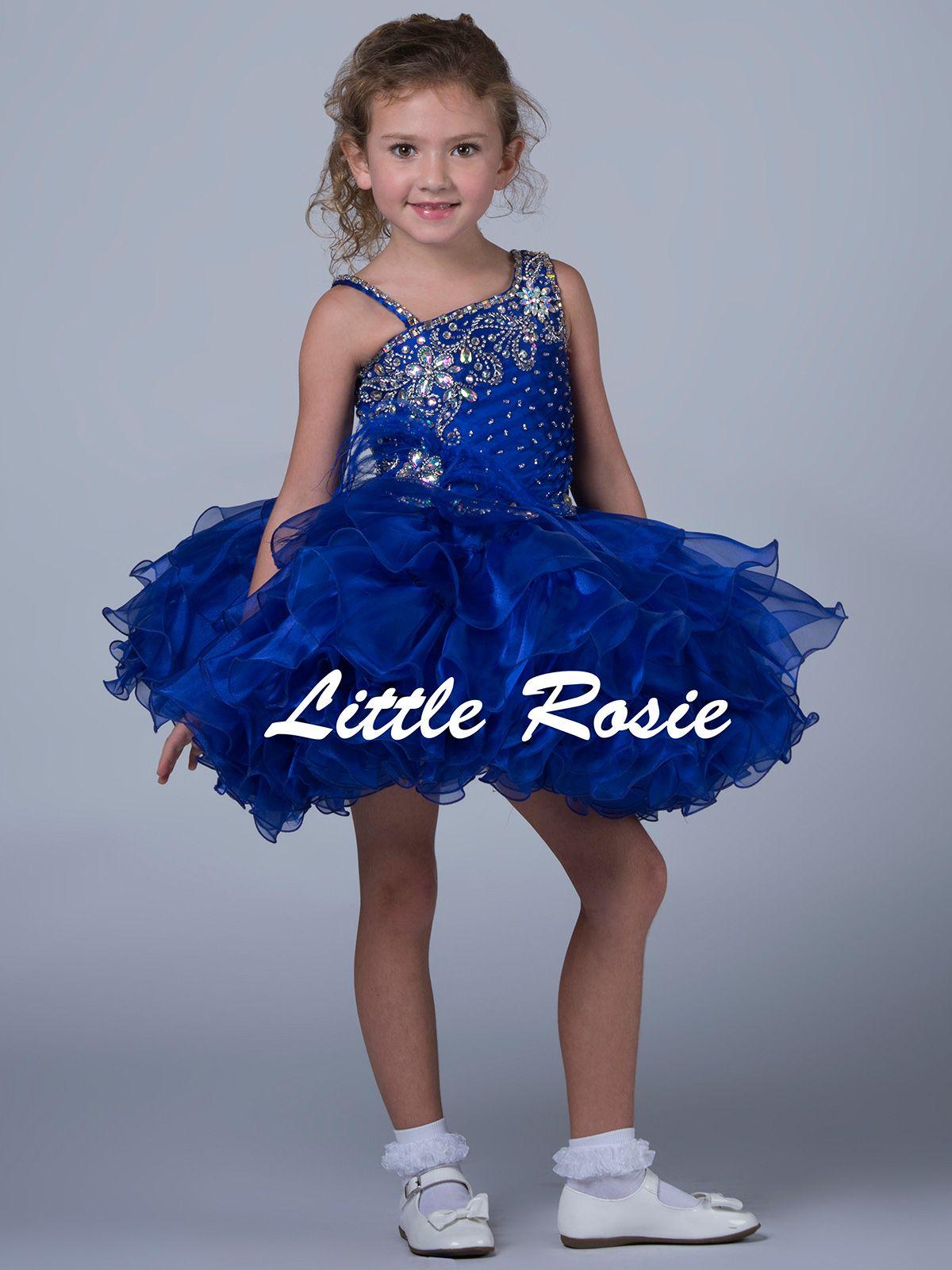 Short Pageant Dresses